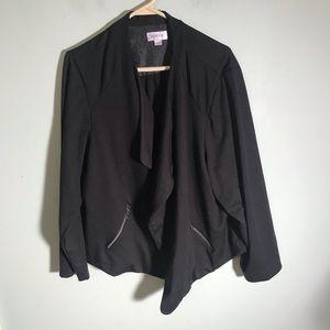 Avenue open front jacket size 22/24